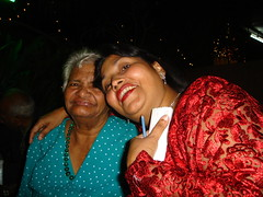 Sharbelle... and 'Aunty Felicia'