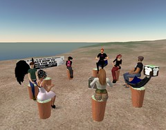 Netroots meeting in Second Life