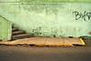 (Terin Talarico) Tags: street green peru yellow stairs grafitti lima decay sidewalk cracks volunteer asphalt miraflores prattinstitute crossculturalsolutions
