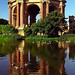 San Francisco - Palace Of Fine Arts / Rotunda Reflected