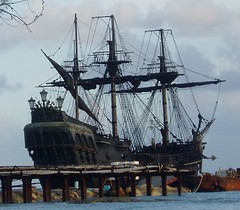 "Avast maties - The ""Black Pearl"" is in port. (foto door: meshmar2)"