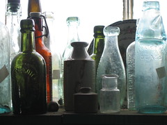 Old Bottles (Natman) Tags: devon southmolton antiques glass light bottles natman tag1 tag2 tag3 taggedout