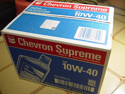 Chevron Superme 10W-40 Engine Oil BOX