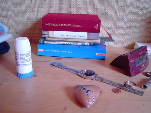 something about my bedside and me