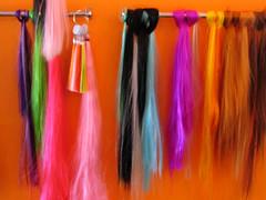 Kunsthaar (Corrie G) Tags: color colors kleuren extensions hairdresser kapper devilsandangels amsterdam