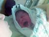 Алиска только что родилась