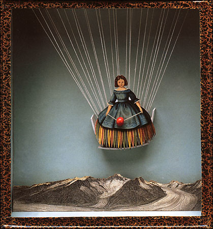 "Tilly Losch,"" circa 1935, by Joseph Cornell, Construction, 10 x 9¤ x 2D inches"