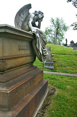 crocker angel wide left (1600 Squirrels) Tags: california usa cemetery statue angel geotagged oakland photo lenstagged 300d tombstone 1600squirrels drebel sfbayarea nocal alamedacounty keeper canon1855f3556 mountainviewcemetery crockerangel portraitorientation geo:lat=3783205 geo:lon=122245 oddratio 2x3plus