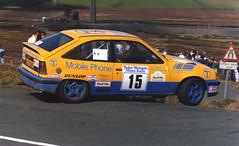 Penti Arrikala (howiefowler) Tags: auto cars rally racing rallying manxrally pentiarrikala vauxhallastragroupa