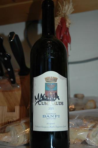 Magna Cume Laude Wine