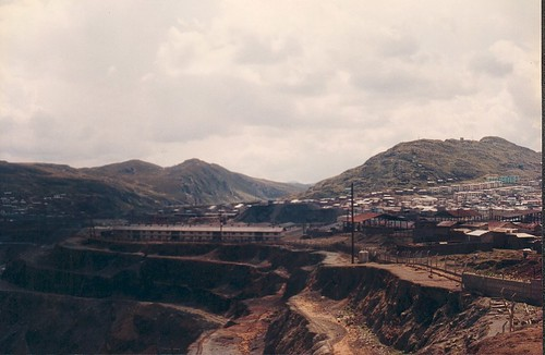 Cerro de Pasco mine, 1993, Photo: Cyberjuan