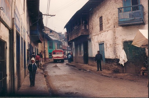 Cerro de Pasco city, 1993, Photo: Cyberjuan