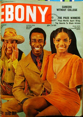 Melba Moore, Cleavon Little and Charles Gordone