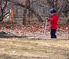 scooter (Rochelle Ratner) Tags: gatesmemory gates centralpark orange newyork