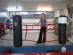 on the ring (x-girl) Tags: sigal telaviv gym boxing ring