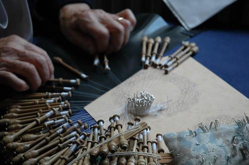 Brugge Lace Maker Hands