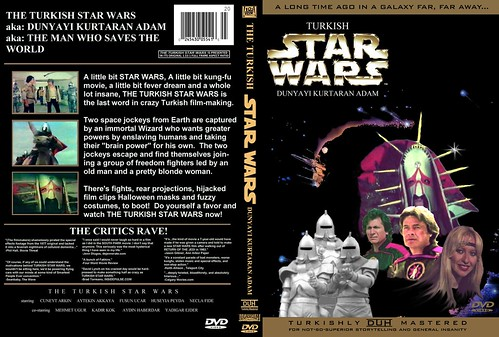 Star Wars Dvd. Turkish Star Wars DVD Cover