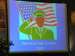 Memorial Day Sunday 2005
