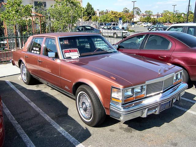 car automobile gardengrove carshow cadillac seville 1978