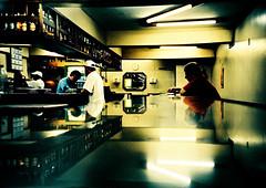 No Balco (.sereal.) Tags: film topf25 topc25 topv111 night movie toy restaurant still lomo lca xpro crossprocessed topf50 balcony toycamera grain slide chrome late inside
