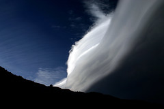 majestic storm front, sierra (Sophie Xia) Tags: california light sunset shadow sky mountain storm topf25 weather topv111 clouds pattern altitude magic minimal sierra backpacking mtwhitney highaltitude easternsierra 2000views 100faves 123landscape