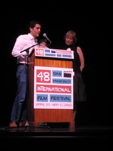 Sam Green at the 2005 Golden Gate awards