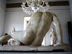 dying gaul from behind
