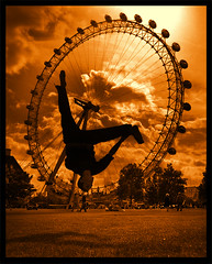 Viewpoints (BombDog) Tags: sun london eye topf25 youth photography jump topf50 topf75 bravo power searchthebest action quality topv999 topf300 acrobat athlete shape fitness topf125 topf150 topf100 soe topf200 skill topf400 topf500 topf600 jonlucas 520favs abigfave jonathanlucas theverybestofflickr 1000commentsfavescand