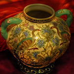 Oriental China Pot in the Shadows thumbnail