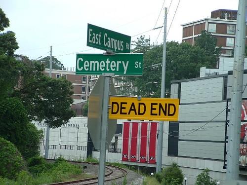 Dead End / Cemetery St.