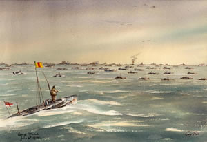d day  paintings