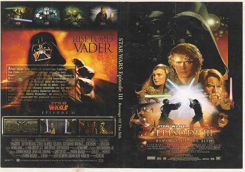 Google Wasuw Star Wars Revenge Of The Sith Dvd Cover