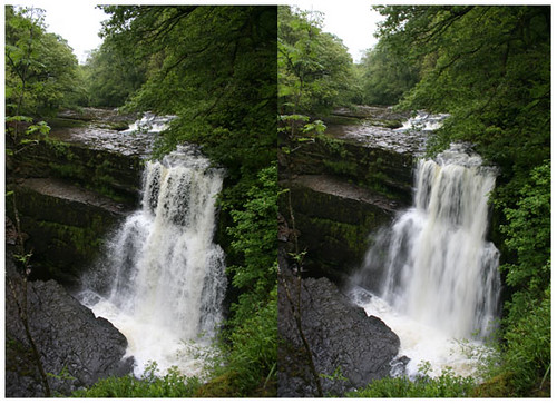 Stereo Waterfall Pic