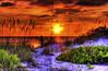 Dark Sun Orange (worldwidewandering) Tags: ocean sunset usa sun beach water rocks florida deleteme10 indian 2006 indianrocksbeach nikond50 largo hdr kiss2 photomatix interestingness479 kiss3 kiss1 kiss4 kiss5 worldwidewandering