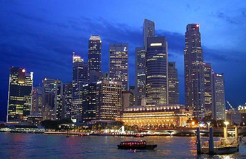 Singapore skyline #3