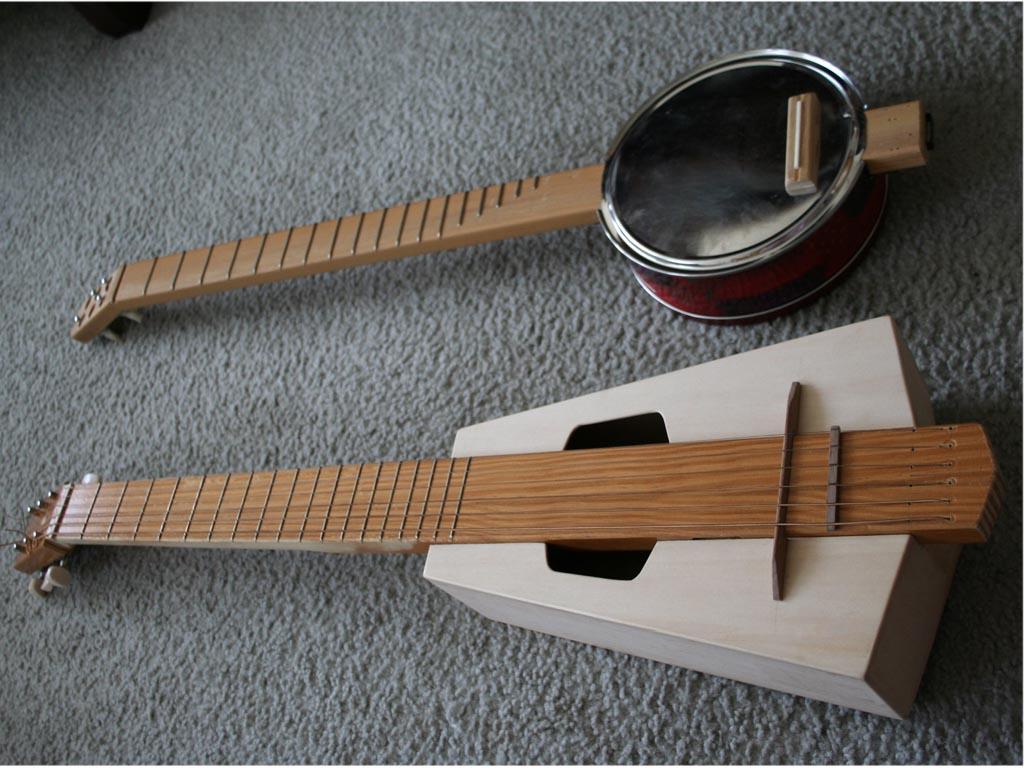 Guitarras hechas con materiales reciclados (Impresionante) - Taringa!
