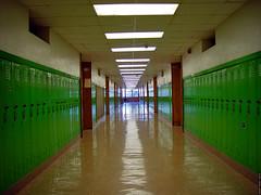 linoleumas mokykloje