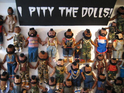 I PITY THE DOLLS!