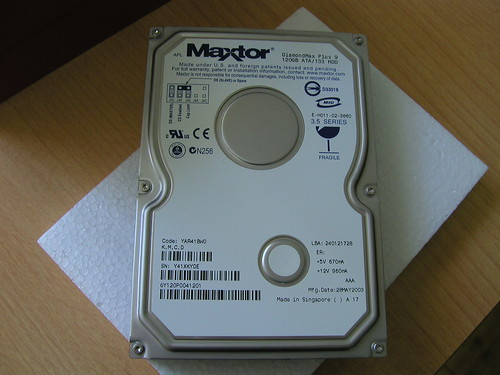 Maxtor is now Seagate