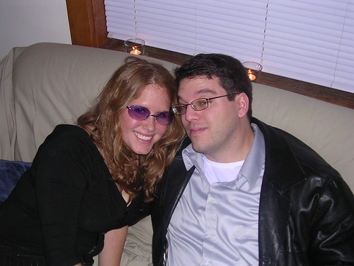 Matt and Carrie, NYE 2004