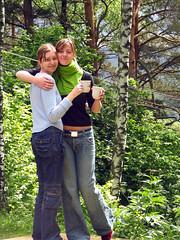 Laurita ir Akvile (Kukas) Tags: laurita akvile donuziosodas