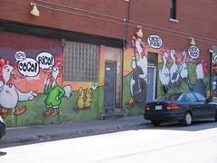 On a wall (StephenPate) Tags: james pate stephen