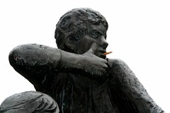 cool (Blackwings) Tags: cool sculpture man