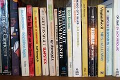 Bookshelf 002 (A river runs through) Tags: books bookshelf nowords