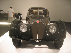 1938 Bugatti 57SC Atlantic Coupe (btmeacham) Tags: car mfa boston bugatti 1938 57sc atlantic
