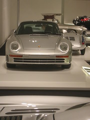 1988 Porsche 959, Porsche 550, Mercedes Gullwing (btmeacham) Tags: car mfa boston porsche 959 550 gullwing mercedes