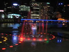 Fountain of youth (Los Cardinalos) Tags: melbourne victoria australia 2005 pc3000 night canona510 favourite