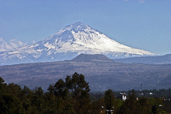 Popocatepetl Volcano on a clear Day (view from West) (Pulpolux !!!) Tags: mountain snow mexico volcano mexicocity cone popocatepetl