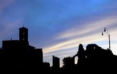 Roman Forum (jake7uk) Tags: italy rome silhouette architecture digital nikon d70 nikond70 roman dusk nikkor dslr dx 1870 jake7uk nikkor1870dx