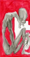 asexual (Sick Sad M!kE) Tags: soldier joker mike art white stripes sado